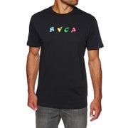 RVCA Crypt Party Short Sleeve T-Shirt