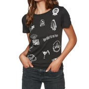 Volcom Last Party Ladies Short Sleeve T-Shirt