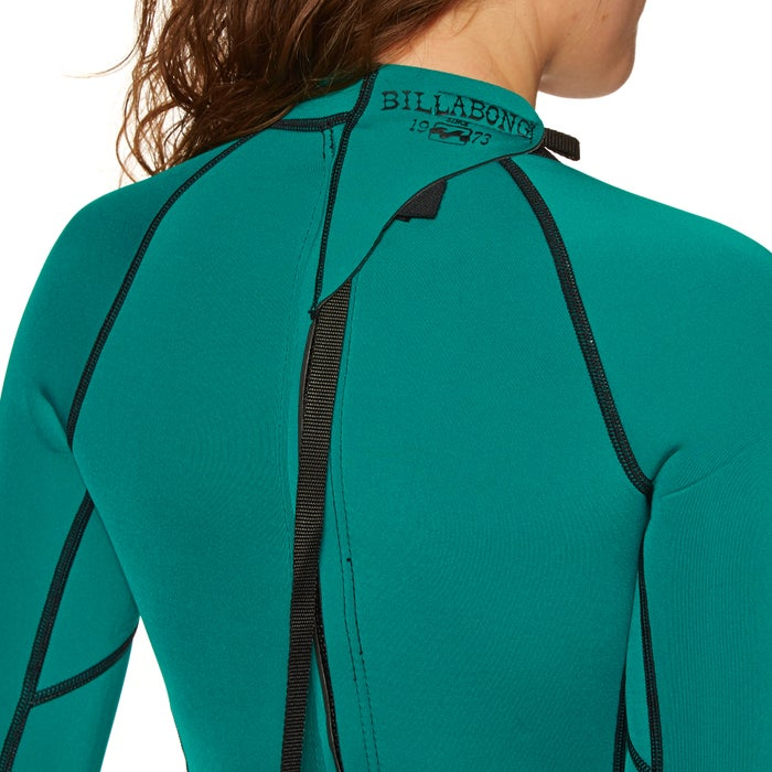 Billabong Spring Fever 2mm 2019 Back Zip Shorty Ladies Wetsuit