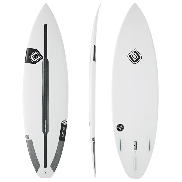 Clayton The Sickness Spine-Tek Futures Thruster Surfboard