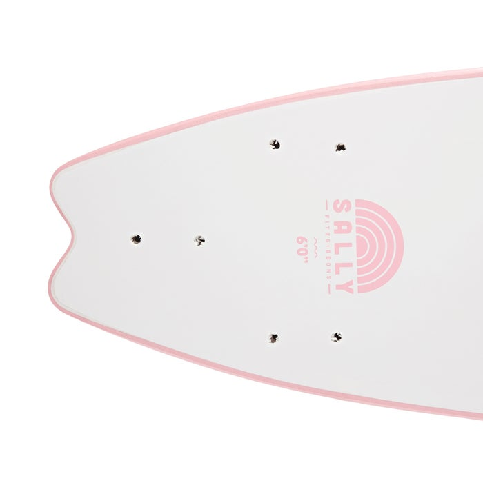 Softech Handshaped Sally Fitzgibbons Thruster Surfboard