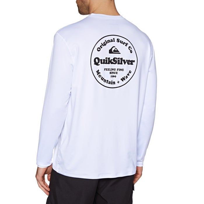 5e55dbd49986 Quiksilver King Tide Long Sleeve UPF 50 Surf T-Shirt from Magicseaweed