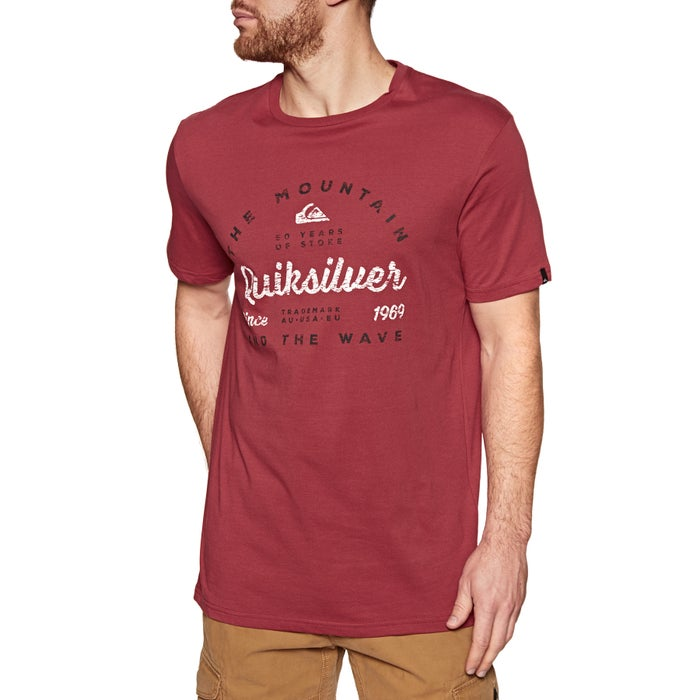 Quiksilver Drop In Drop Out Short Sleeve T-Shirt
