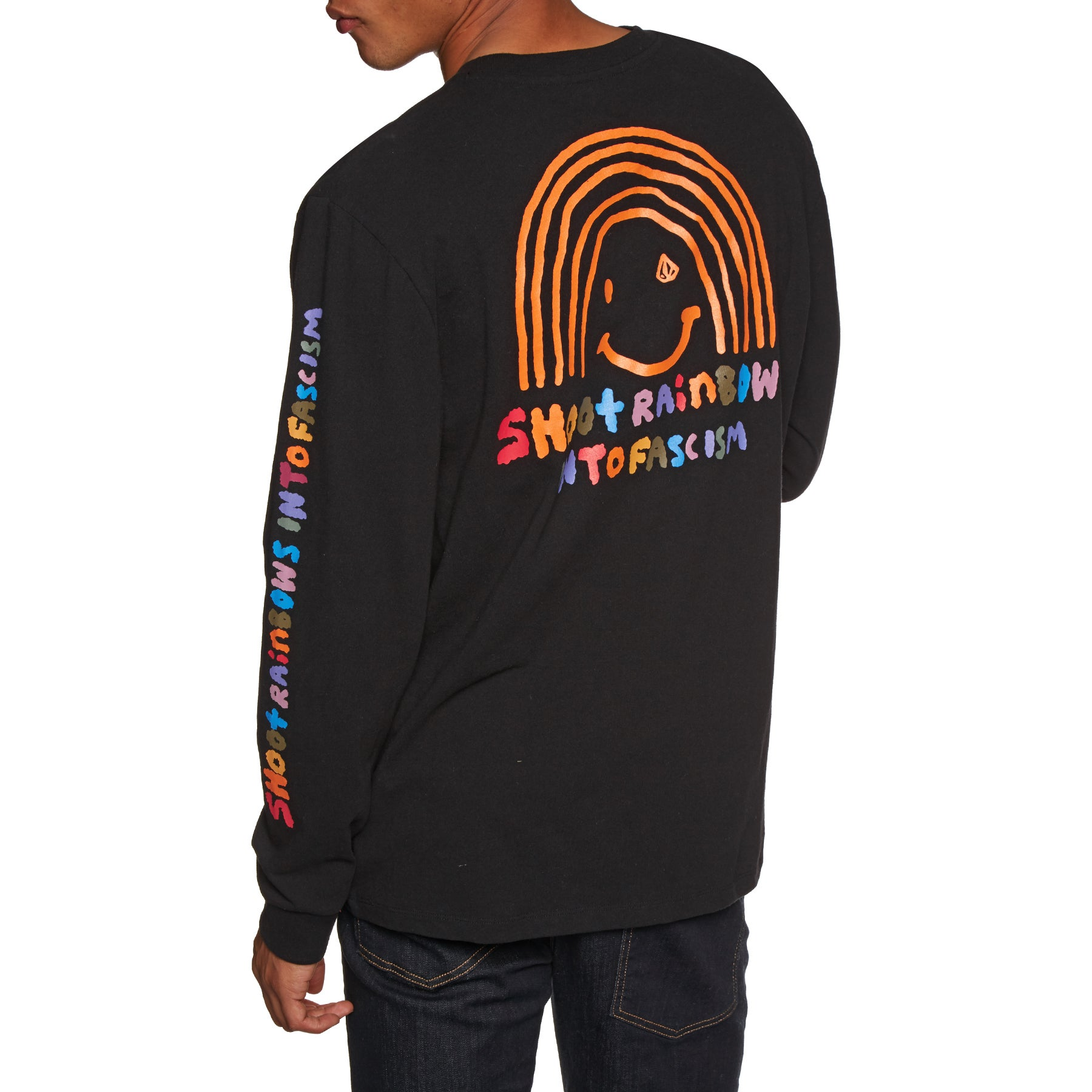 Volcom Ozzie Rainbow Boxy Long Sleeve T-Shirt