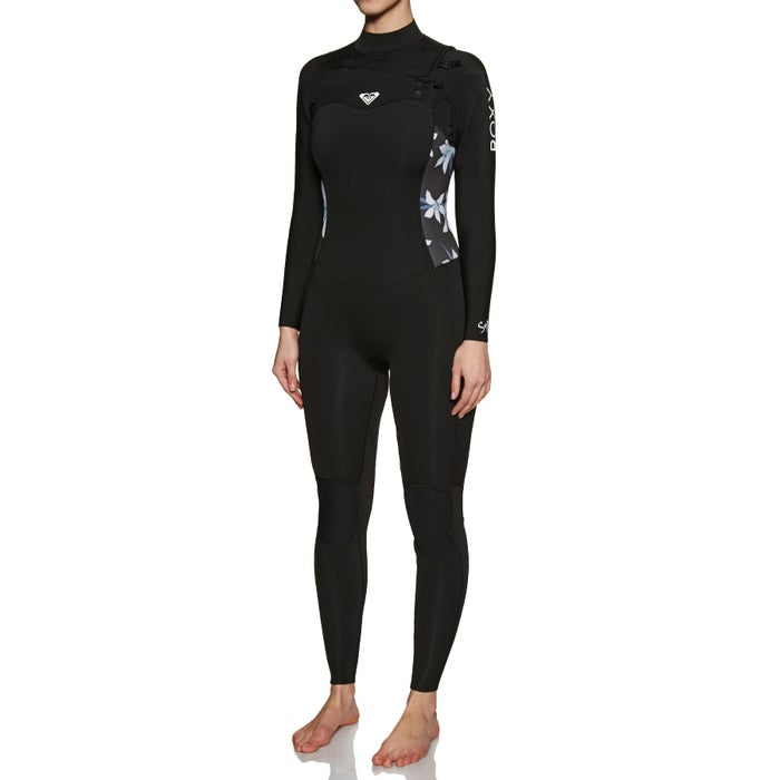 Roxy 3/2mm Syncro Series Chest-Zip Ladies Wetsuit