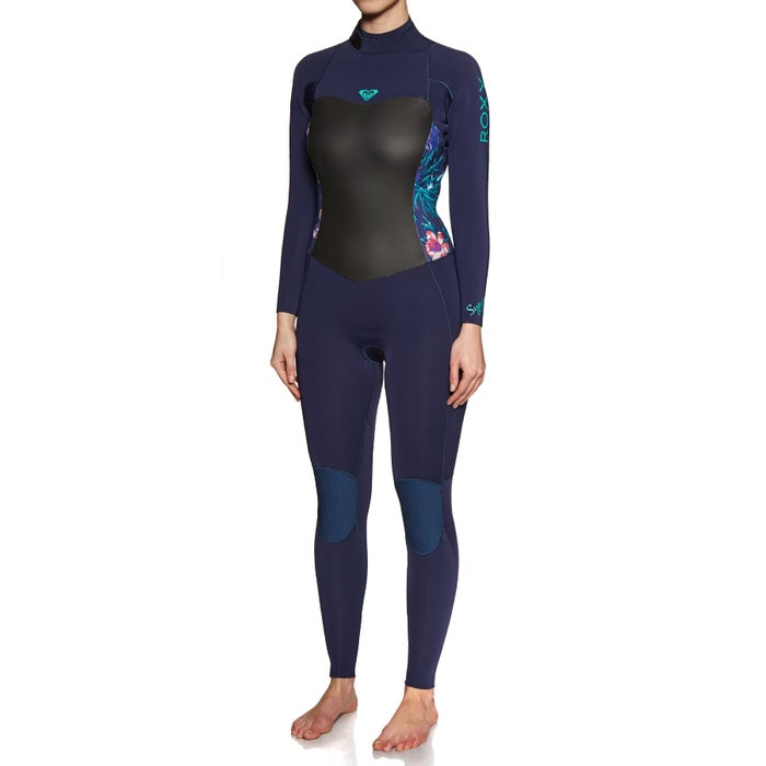 Roxy 3/2mm Syncro Series Back Zip Ladies Wetsuit