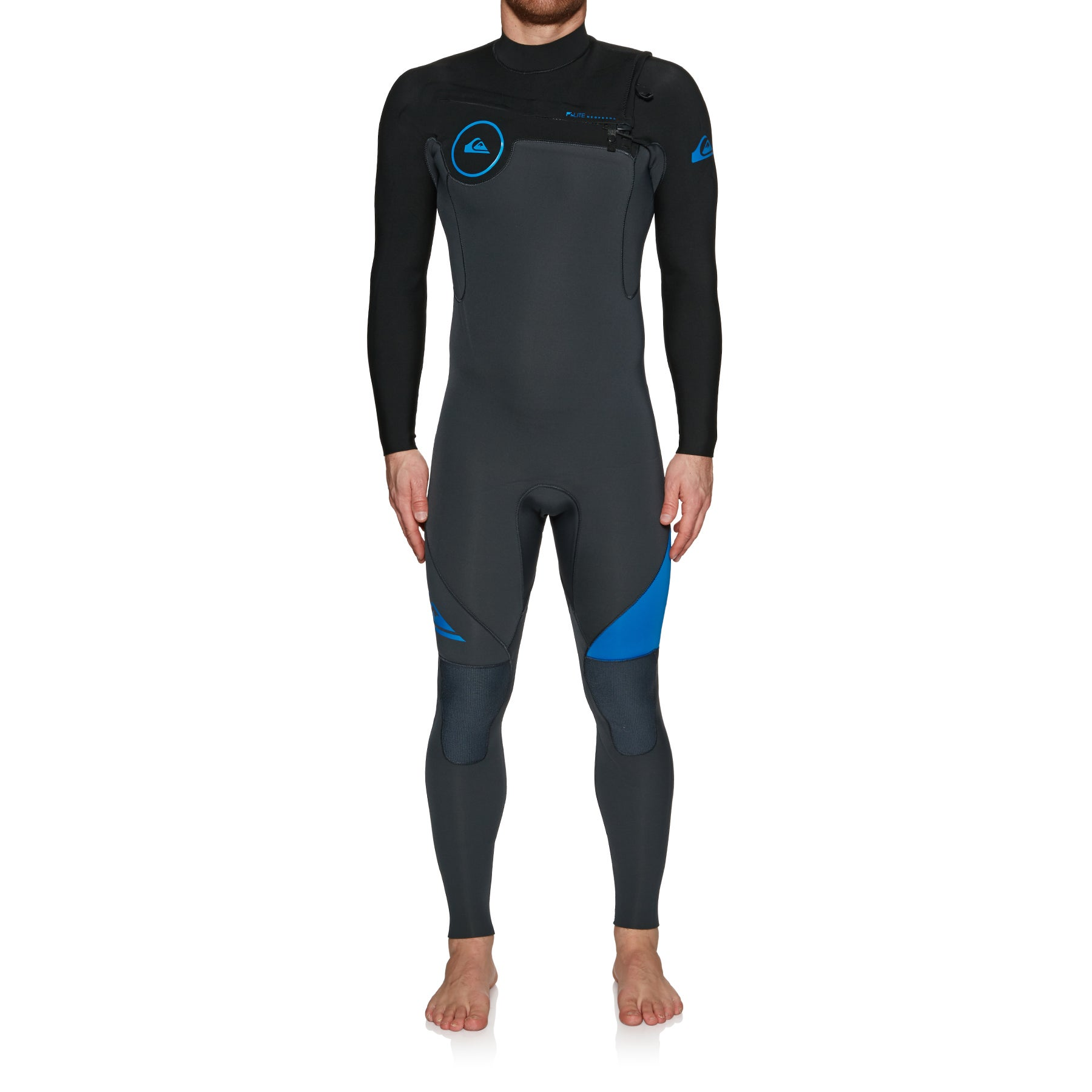 Quiksilver 4/3mm Syncro Series Chest Zip GBS Wetsuit