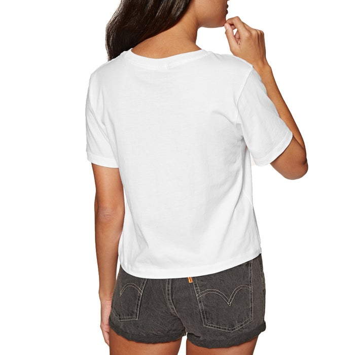 Element Love Hand Crop Ladies Short Sleeve T-Shirt