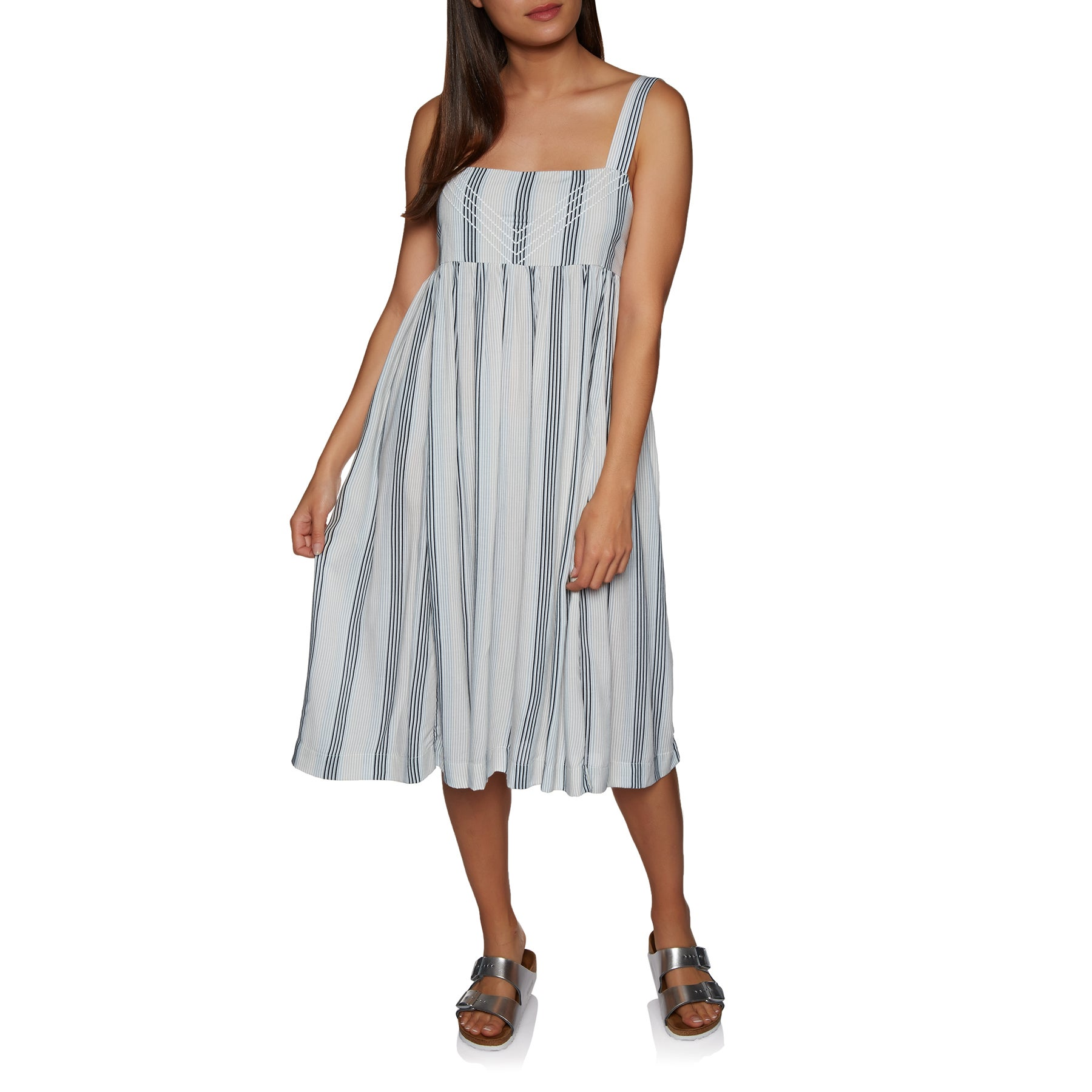Volcom Da Boom Stripe Ladies Dress