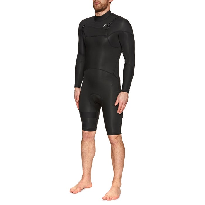 Hurley Advantage Plus 2mm 2019 Chest Zip Long Sleeve Shorty Wetsuit