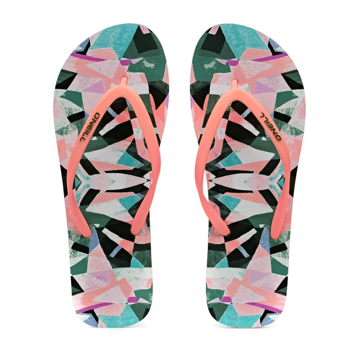 O Neill M And M Print Sandals