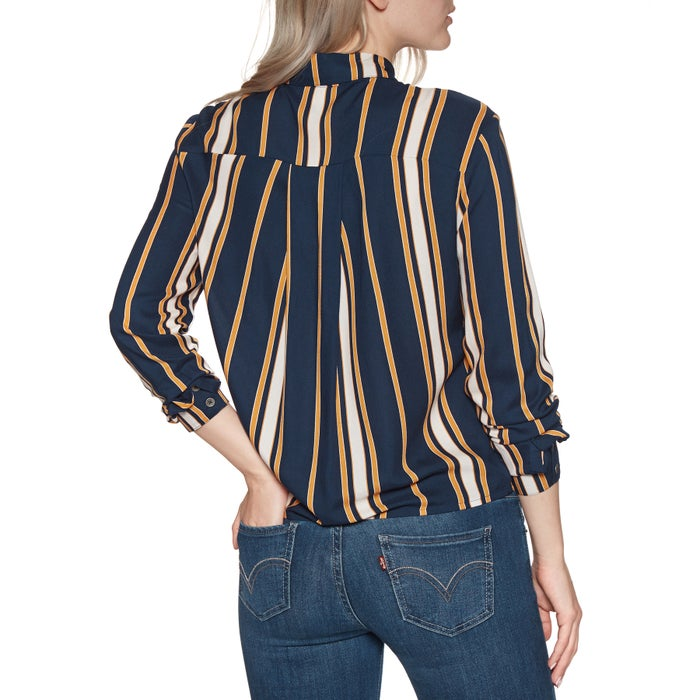 Roxy Suburb Vibs Stripes Ladies Shirt