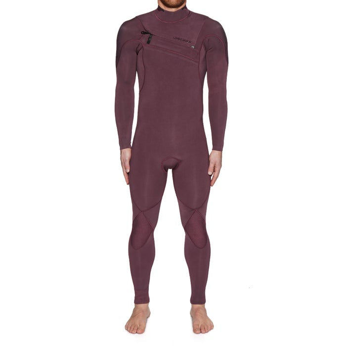 Quiksilver 3/2mm Highline Limited Monochrome Chest Zip Wetsuit
