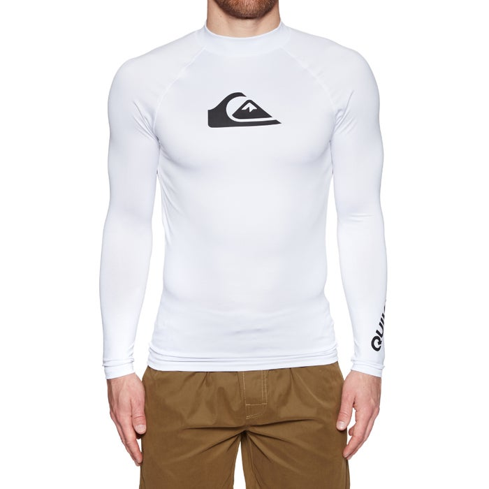 Quiksilver All Time Long Sleeve UPF 50 Rash Vest