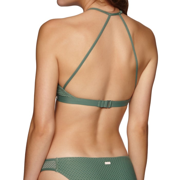 Roxy Garden Summer Full Crop Ladies Bikini Top