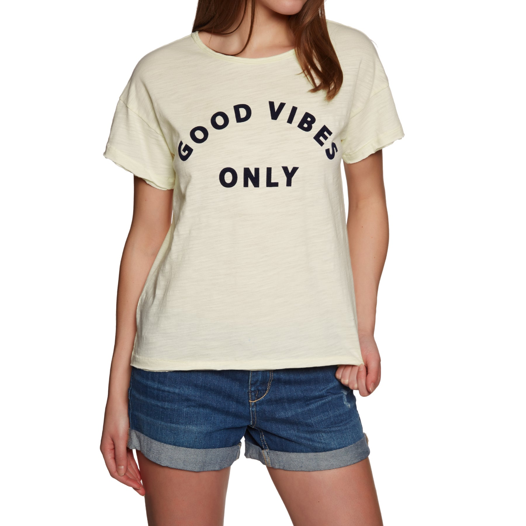 Rhythm Good Vibes Ladies Short Sleeve T-Shirt