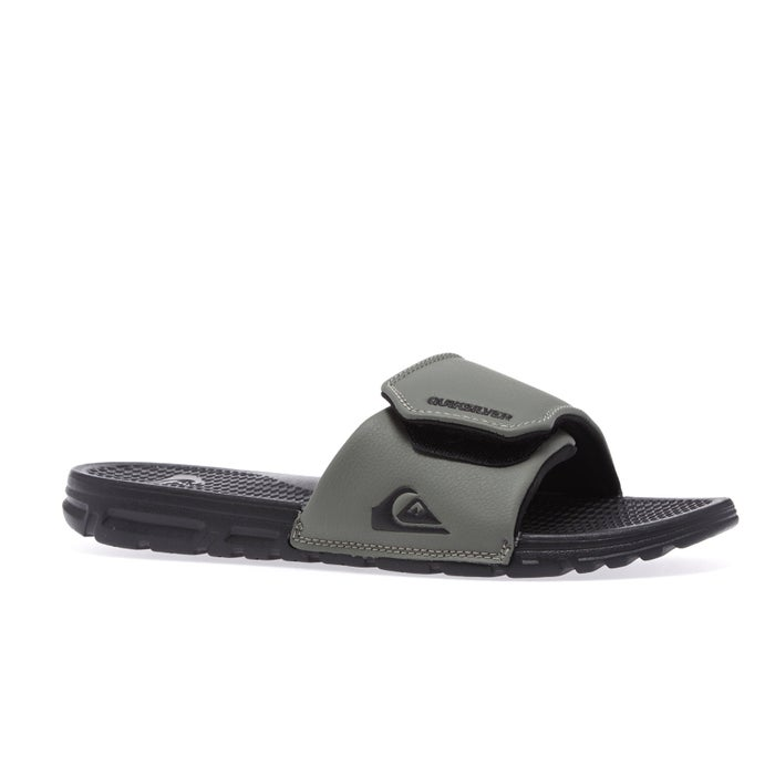 Quiksilver Shoreline Adjust Slider Sandals from Magicseaweed