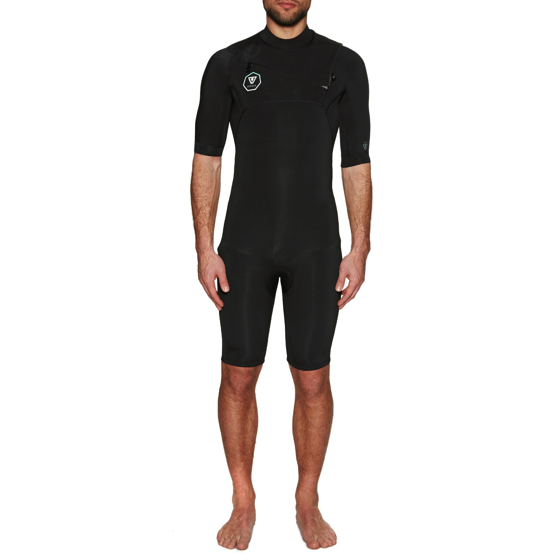 Vissla 7 Seas 2mm 2019 Chest Zip Shorty Wetsuit
