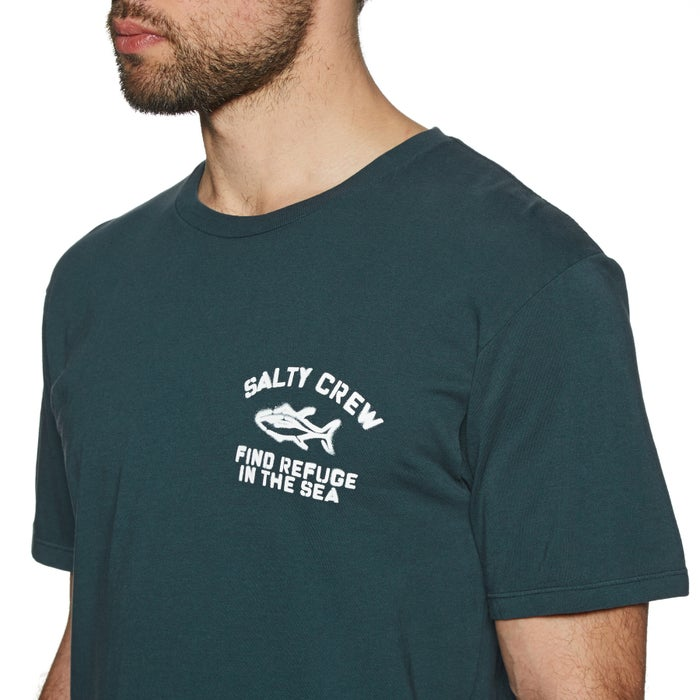Salty Crew Vandal Overdyed Short Sleeve T-Shirt