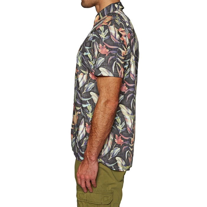 Hurley Fat Cap Woven Short Sleeve Shirt
