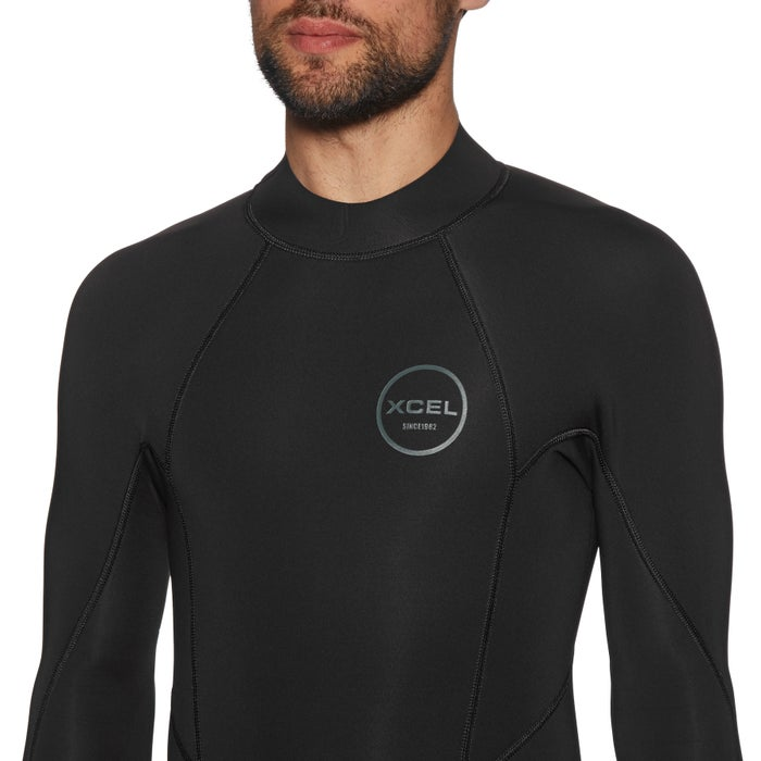 Xcel Axis 2mm Long Sleeve Back Zip Shorty Wetsuit