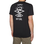 Rip Curl Search Logo Short Sleeve UV Surf T-Shirt