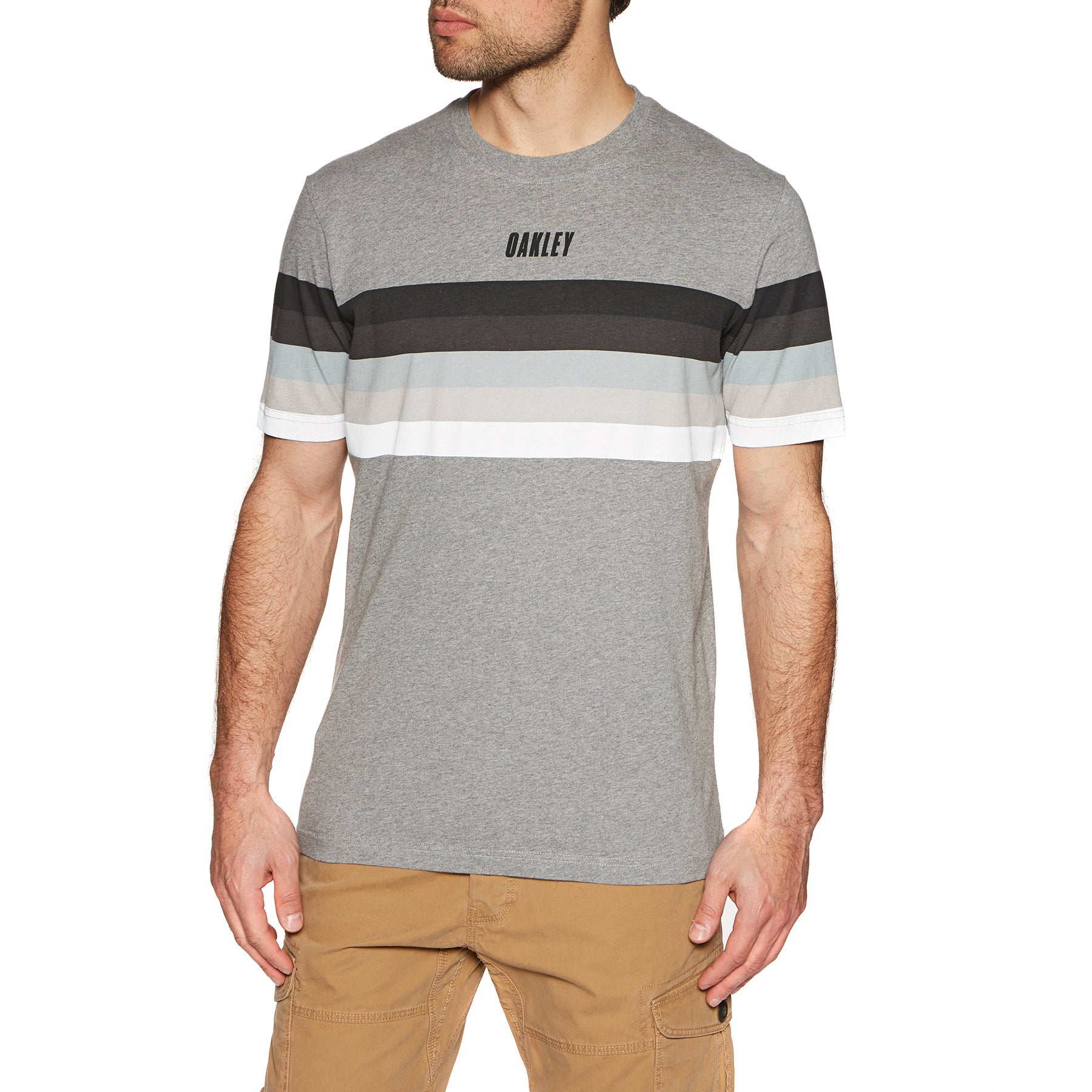 Oakley Tn Racing Sunset Stripe Short Sleeve T-Shirt