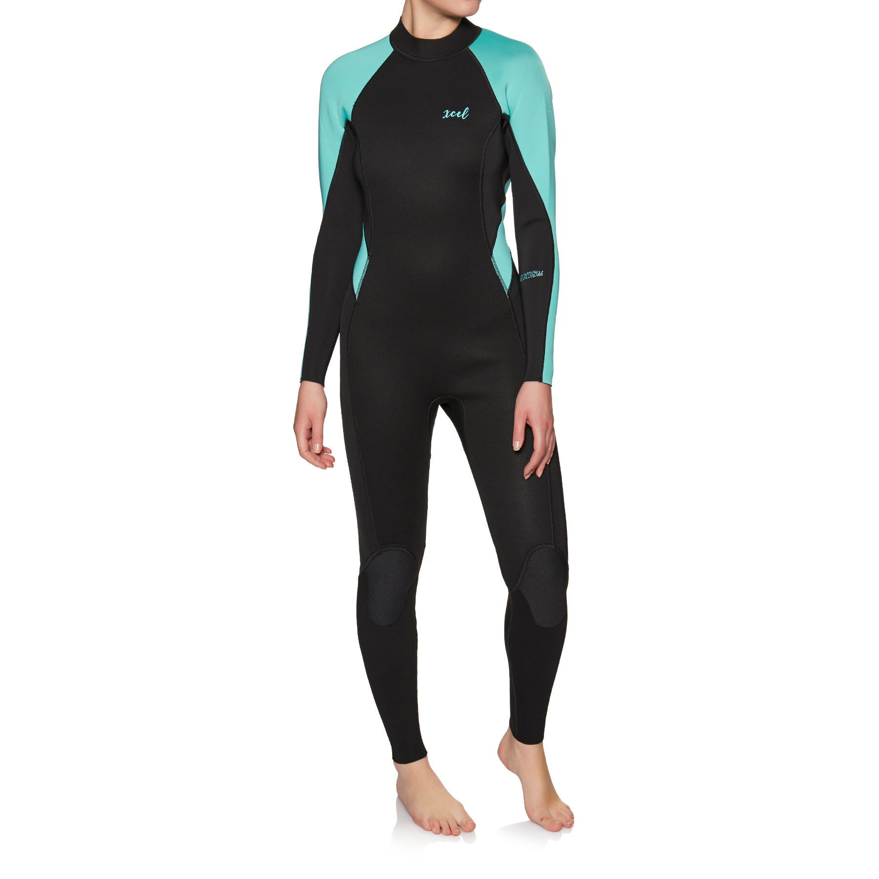 Xcel Axis Fl 3/2mm Back Zip Ladies Wetsuit