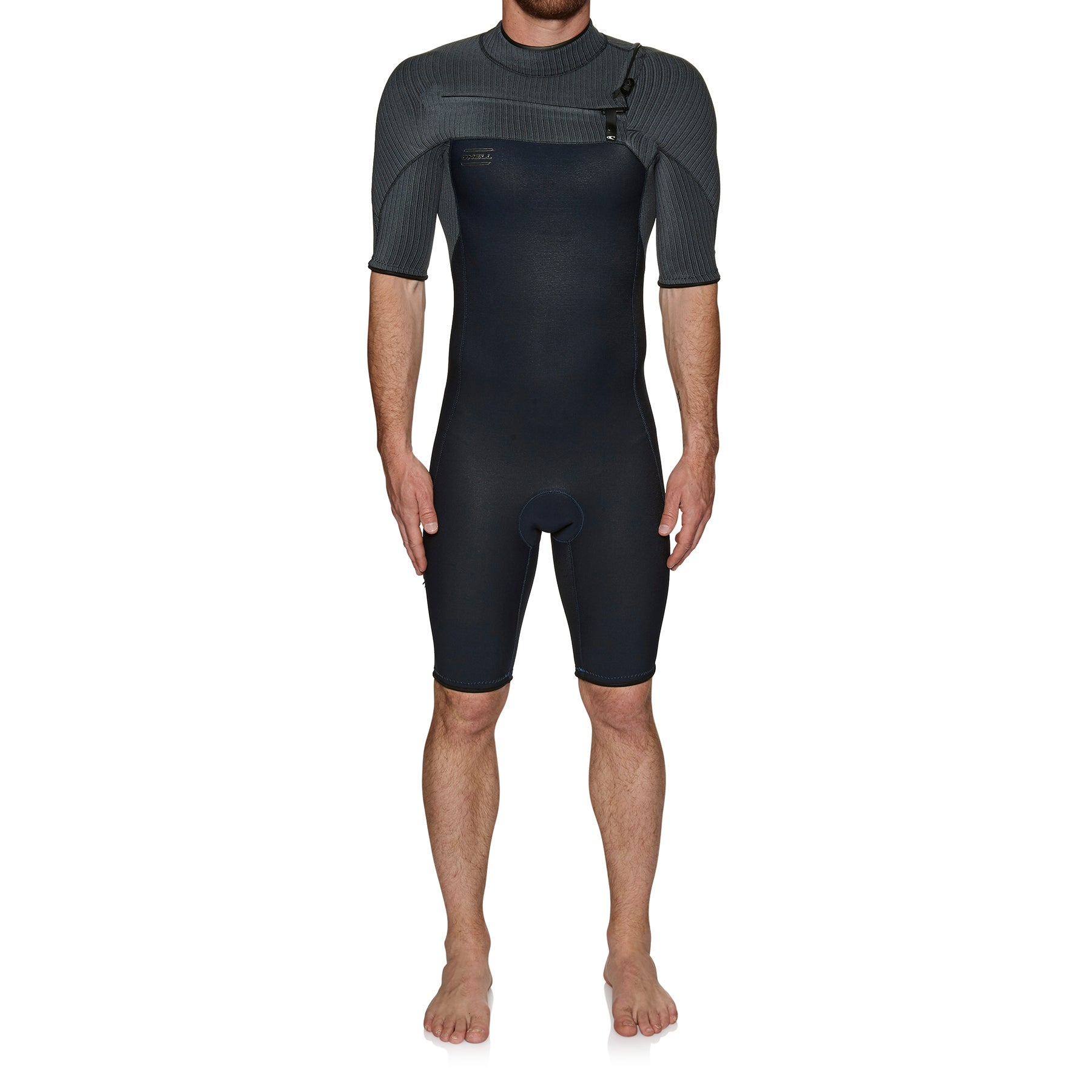 O Neill Hyperfreak 2mm Chest Zip S/s Spring Wetsuit