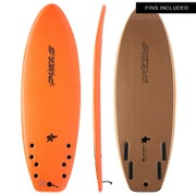 Indio x Pukas Shore Breaker Quad Surfboard
