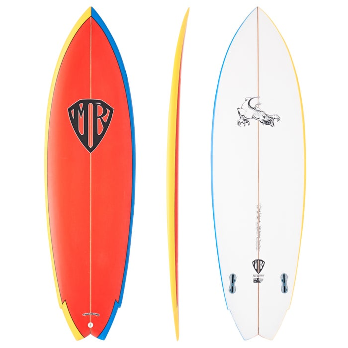 MR Retro Twin FCS II Surfboard