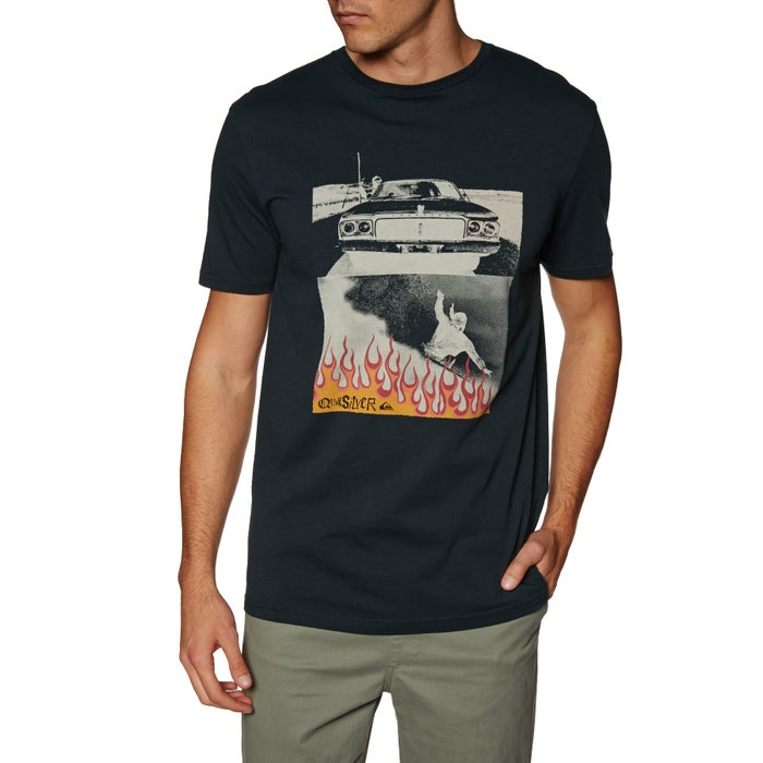 Quiksilver Against All Odd Balls Short Sleeve T-Shirt
