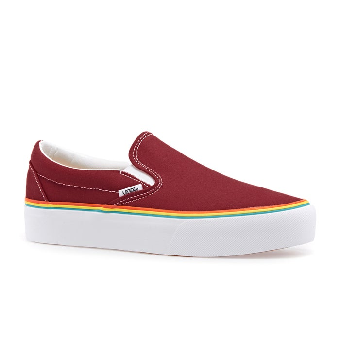 Vans Classic Platform Ladies Slip On Shoes
