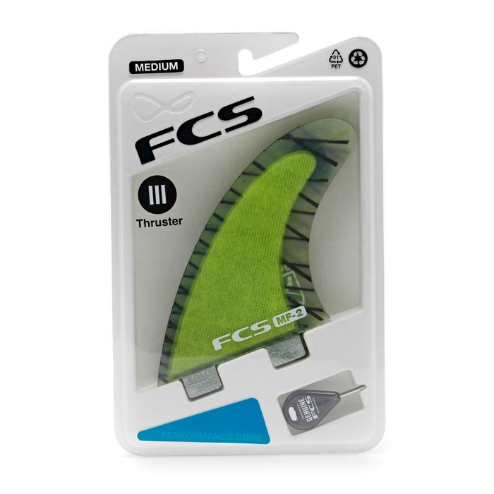 FCS Mick Fanning Performance Core Thruster Fin