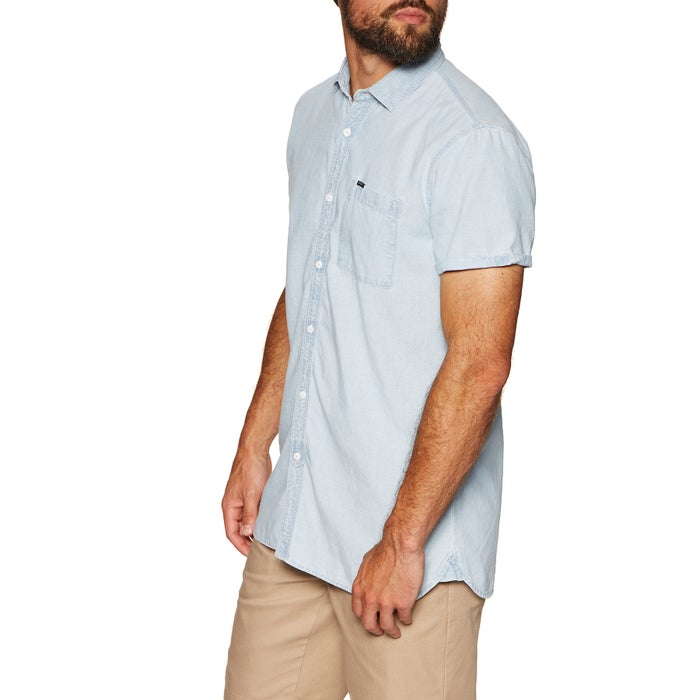 O Neill Chambray Short Sleeve Shirt