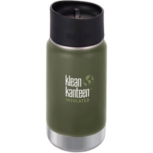 Klean Kanteen Vacuum Insulated Wide 355ml with Cafe Cape 2.0 Flask - Fresh Pine
