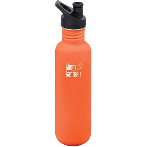 Klean Kanteen Classic 800ml With Sport Cap Water Bottle - Sierra Sunset