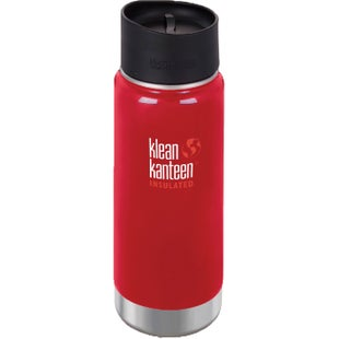 Klean Kanteen Vacuum Insulated Wide 473ml with Cafe Cape 2.0 Flask - Mineral Red