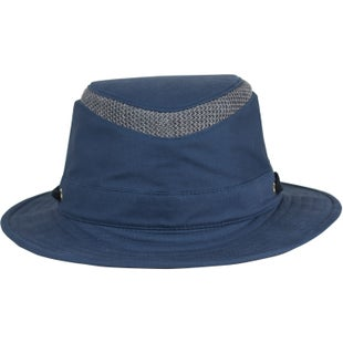 Tilley Airflo Organic Cotton Medium Brim Hat - Mid Blue