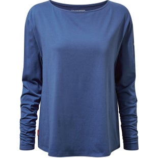 Craghoppers NosiLife Erin Long Sleeve Womens Top - Soft Denim
