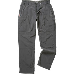 Craghoppers NosiLife Cargo Reg Leg Pants - Black Pepper