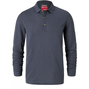 Craghoppers NosiLife Ellerbek Polo Shirt - Ombre Blue