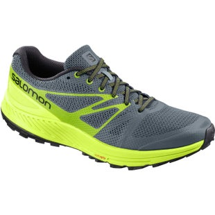 Salomon Sense Escape Trail Shoes - Stormy Weather Acid Lime Green