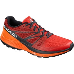 Salomon Sense Escape Trail Shoes - Fiery Red Scarlet Ibis Black