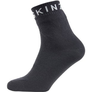 Sealskinz Super Thin Ankle Outdoor Socks - Black Grey