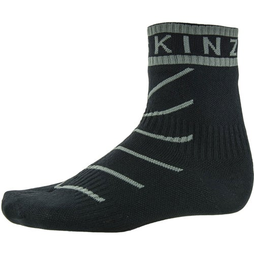 Sealskinz Super Thin Pro with Hydrostop Outdoor Socks - Black Grey