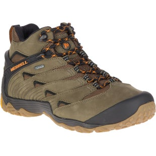 Merrell Chameleon 7 Mid GTX Walking Shoes - Olive