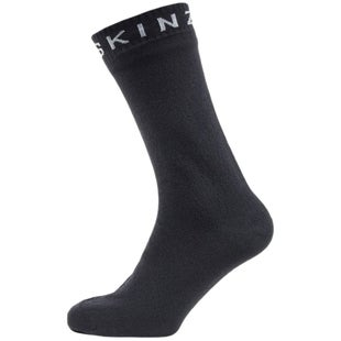 Sealskinz Super Thin Mid Outdoor Socks - Black Grey