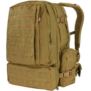 Condor Outdoor 3 Day Assault Pack Backpack - Coyote Brown