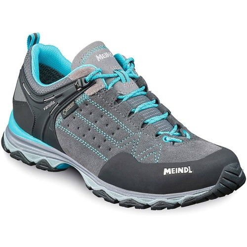 Meindl Ontario GTX Womens Walking Shoes - Grey Blue